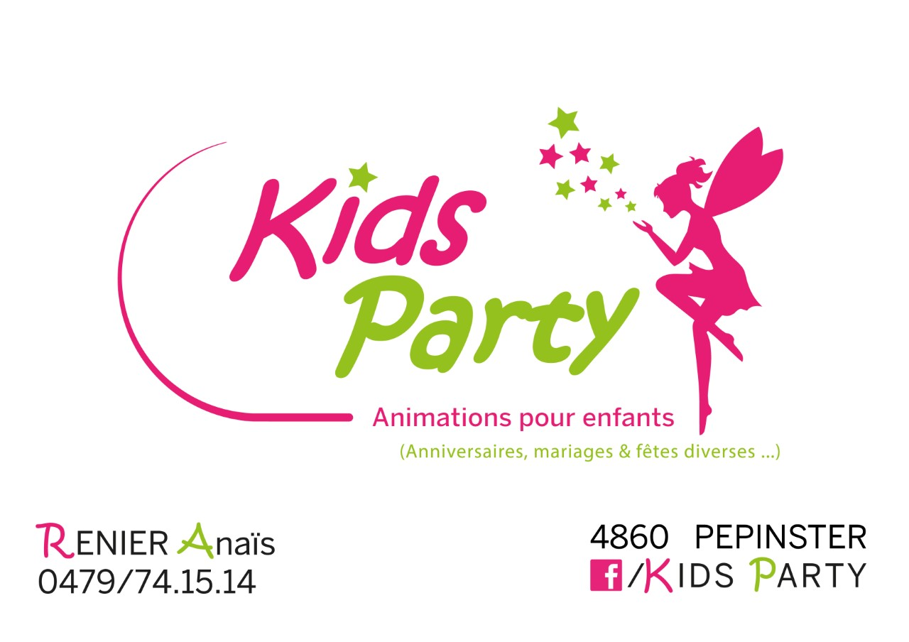 KIDS PARTY Mobile Logo